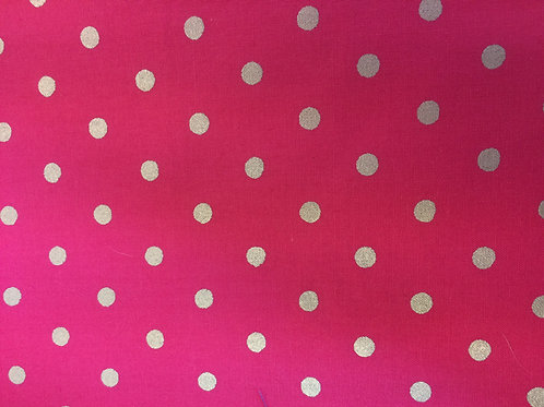 Raspberry Sparkle Dots