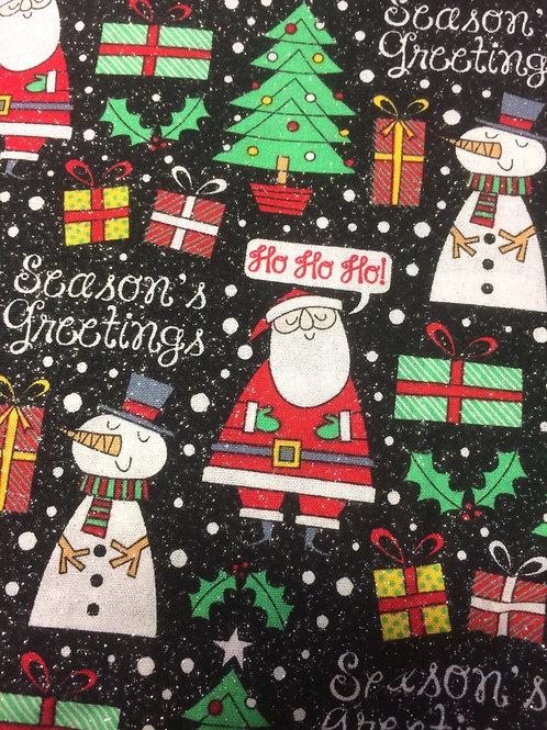 Sparkle Santa & Snowmen