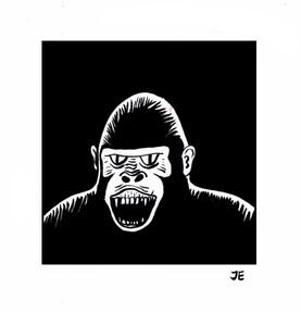 Gorillaportrait