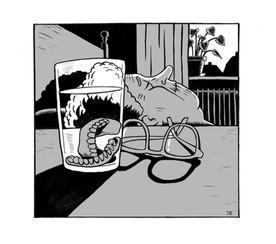 Comic: Grandmas aquarium