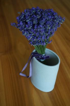 Es duftet durch das Foto nach Lavendel