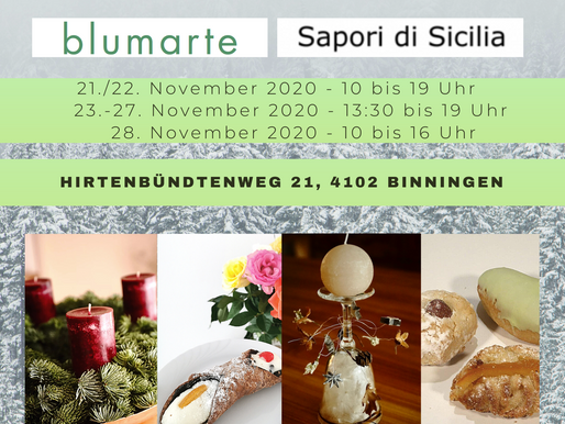 Adventszelt von Sapori di Sicilia und blumarte