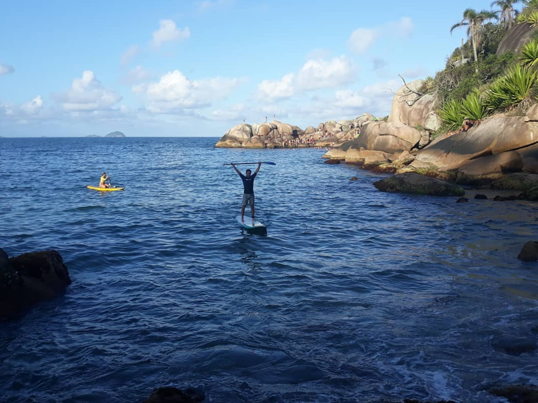 Stand Up Paddle no mar