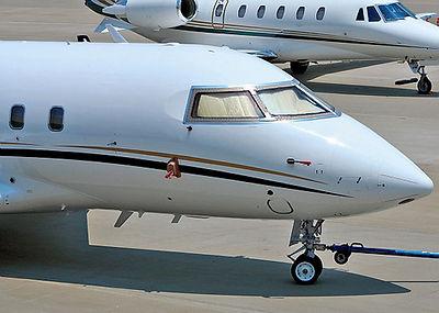Challenger 604 RH Windshield P/N 604-33030-26