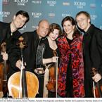 Echo Preis 2006, mit Laudatorin Martina Gedeck