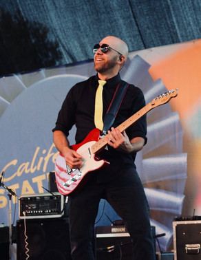 Tony at the State Fair with Power Play Band