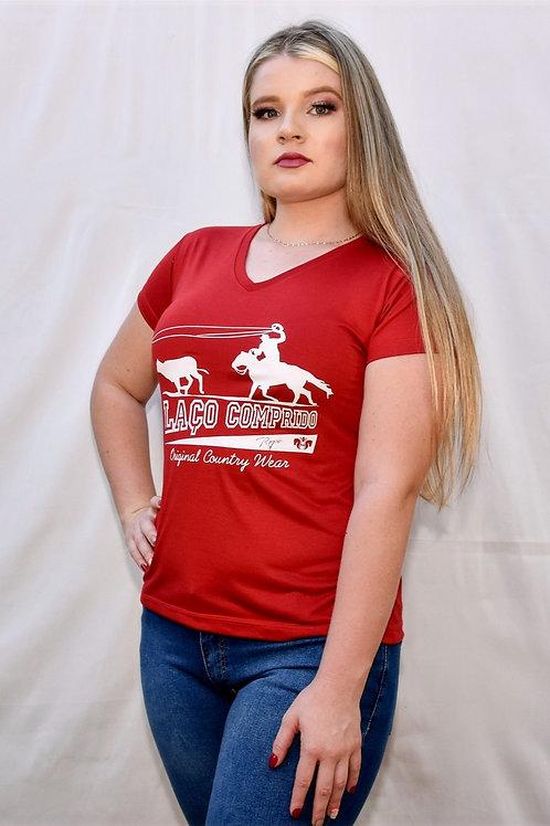 Camiseta Laço Comprido Red