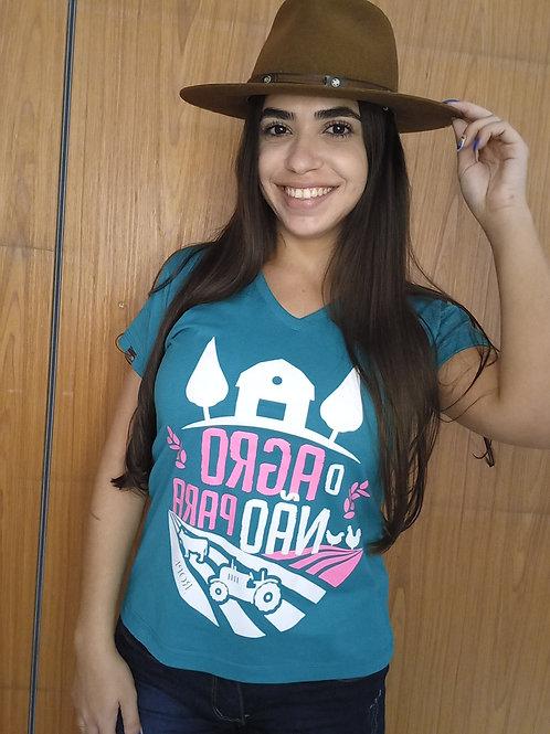 T-shirt O Agro Não Para I