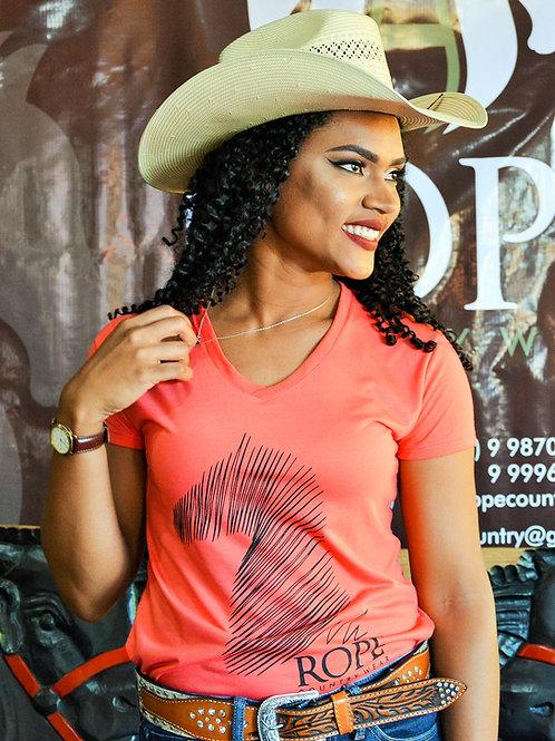 Camiseta Feminina Rope Risco
