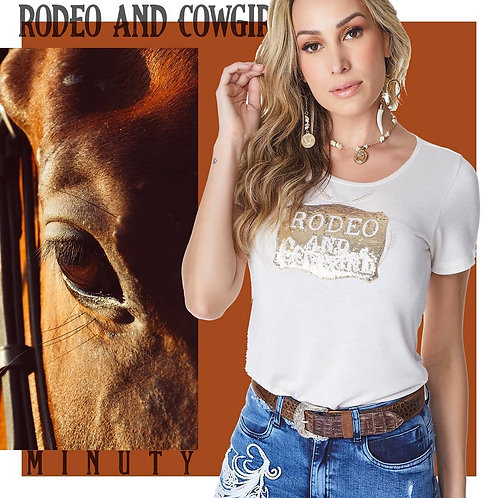 T-shirt  Rodeio and Cowgirl 704