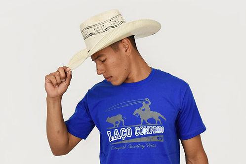 Camiseta estampada Laço Comprido