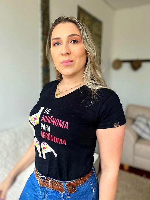 """T-shirt """"De Agronôma Para Agronôma """" Edição Especial"""
