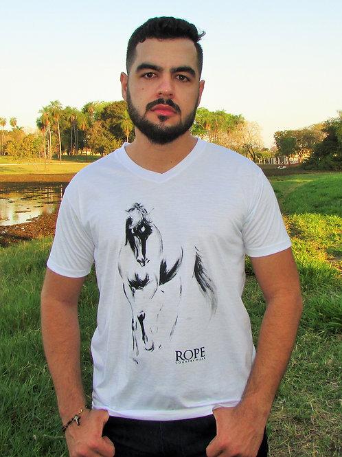 Camiseta Masculina Horse Black