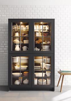 Featured Glass Display Door