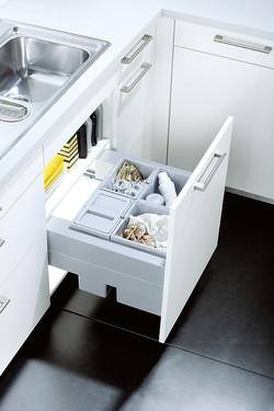 Sink Base Bin System