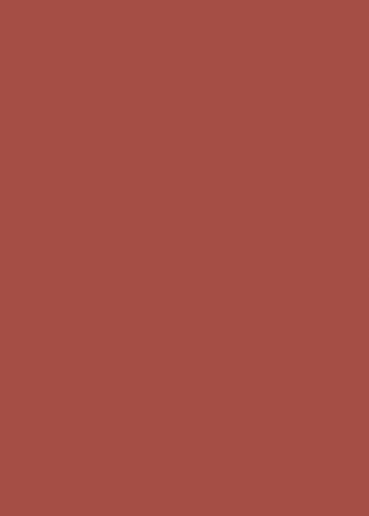 15 Terracotta red Satin