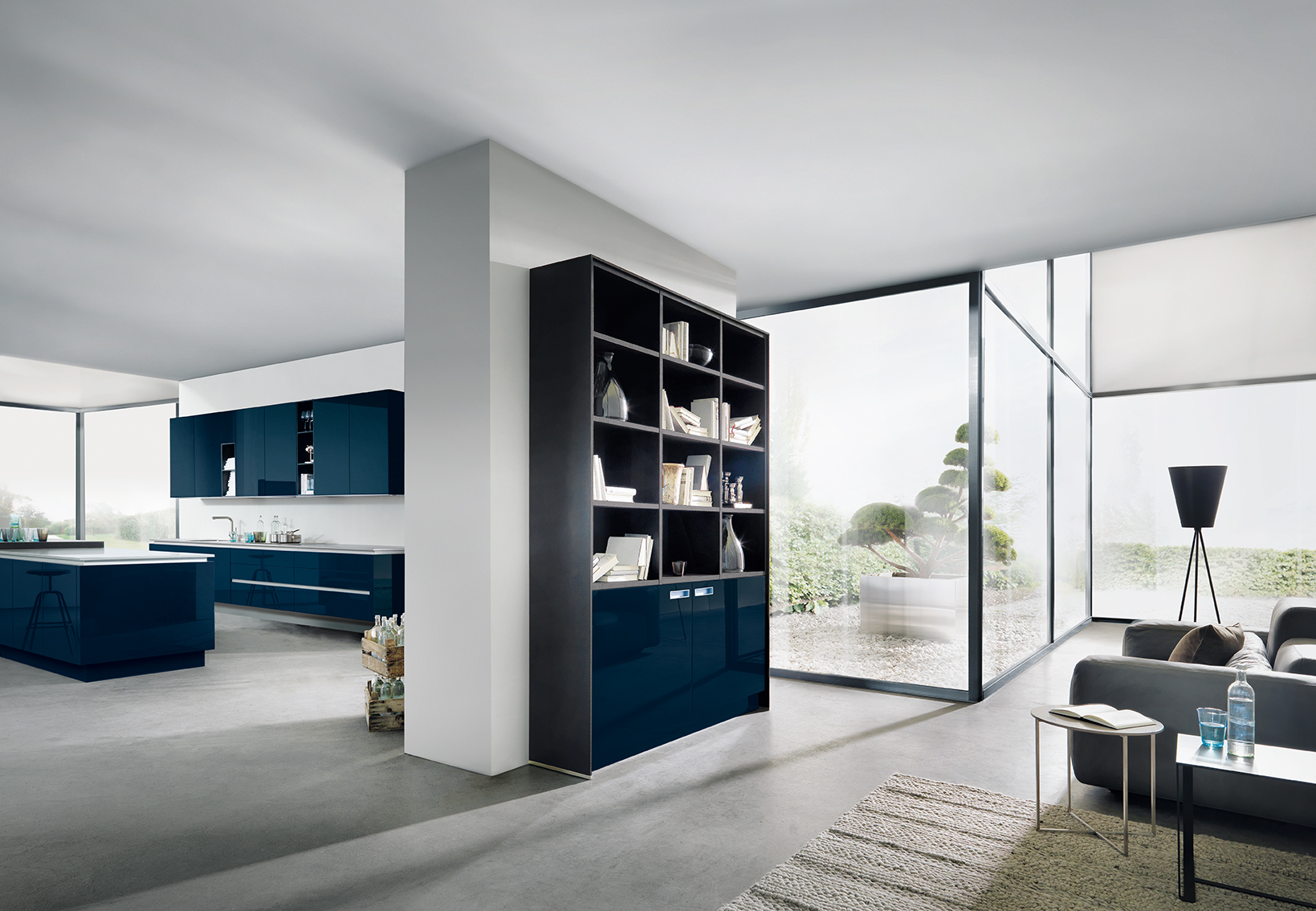Next 125 NX501 Indigo Blue High Gloss 2