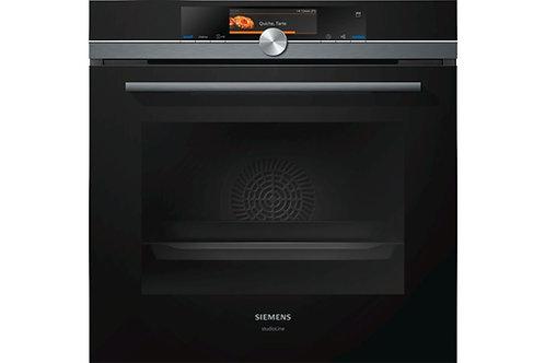 Siemens Studioline iQ700 Single oven with fullSteam HS858GXB6B
