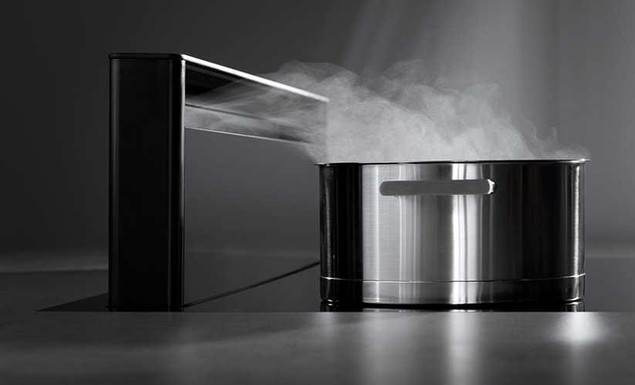 Efficient extraction of cooking vapours