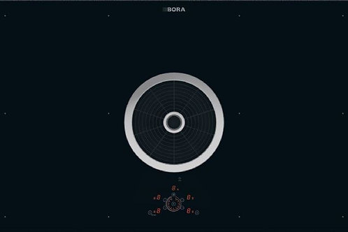 BORA Basic BIU glass ceramic induction cooktop with extractor | Recirculation