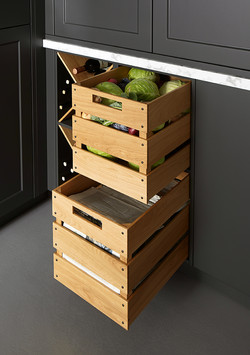 Country Style Pull Out Crate