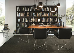 Next 125 NX620 Featured Open Shelving Graphite Knotty Oak Brushed