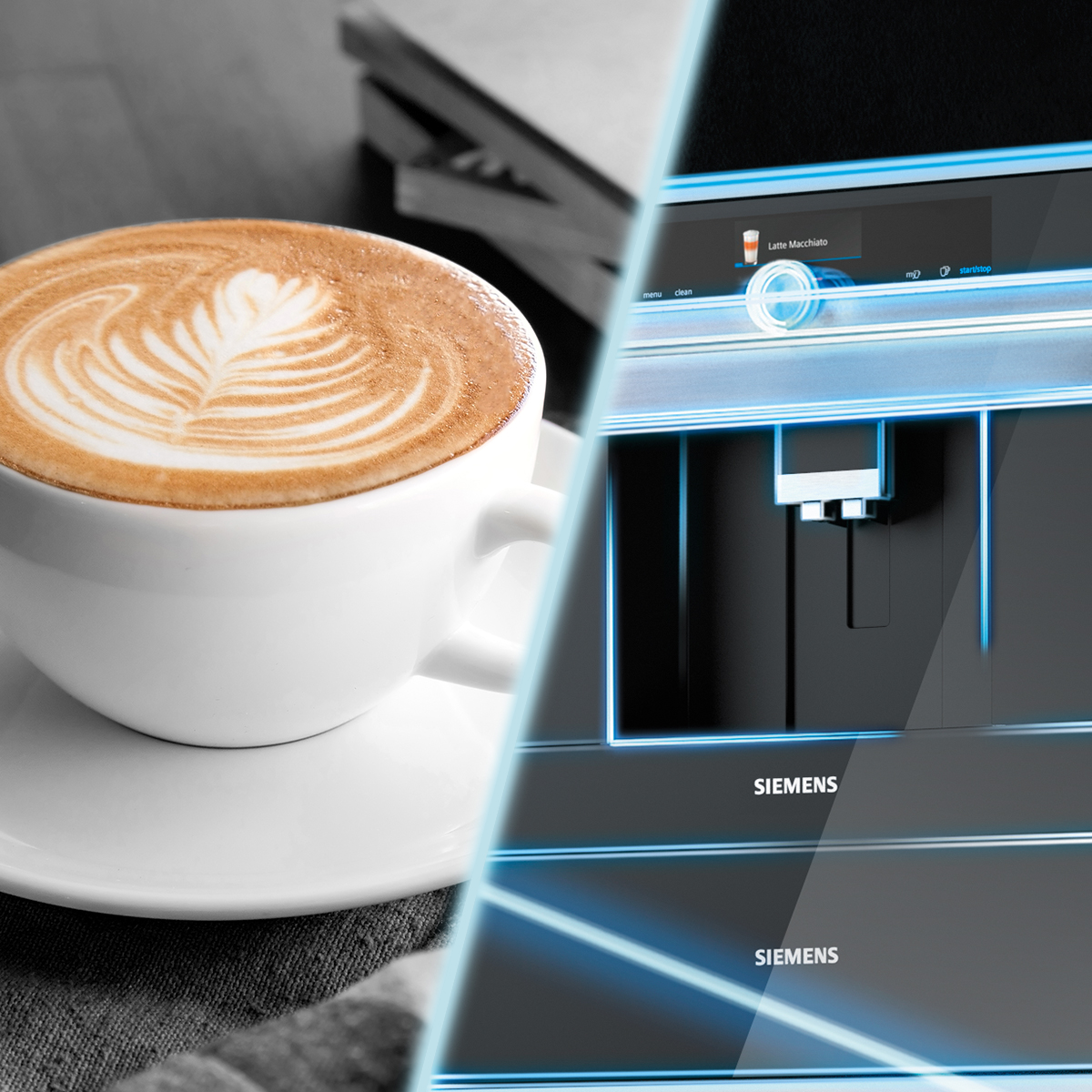 Siemens home connect coffee