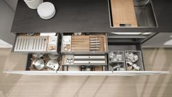 Next 125 NX902 Glass Matt Stone Grey Featured Draw Box Inserts