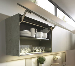 Next 125 NX950 Ceramic Concrete Grey Featured Wall Unit