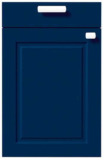 7 Classic Aqua Blue Matt Velvet