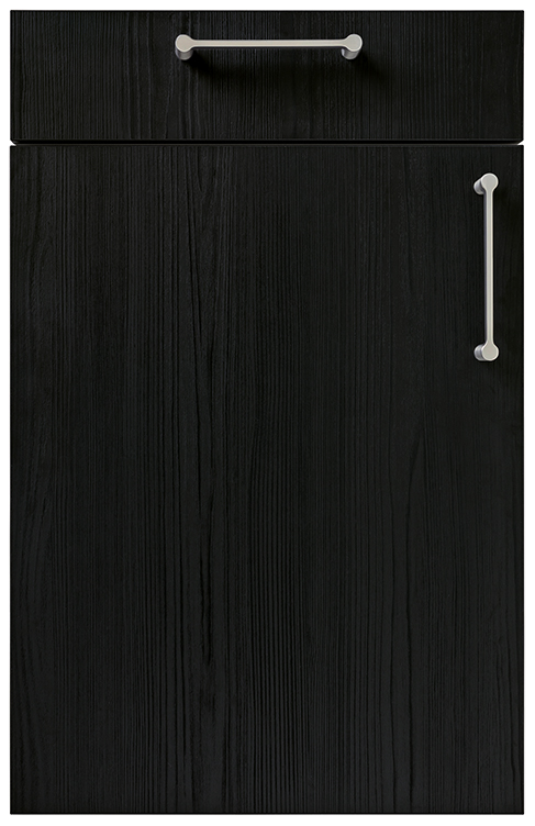 Linea Flamed Oak Black