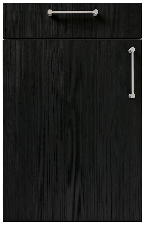 Linea Flamed Oak Black