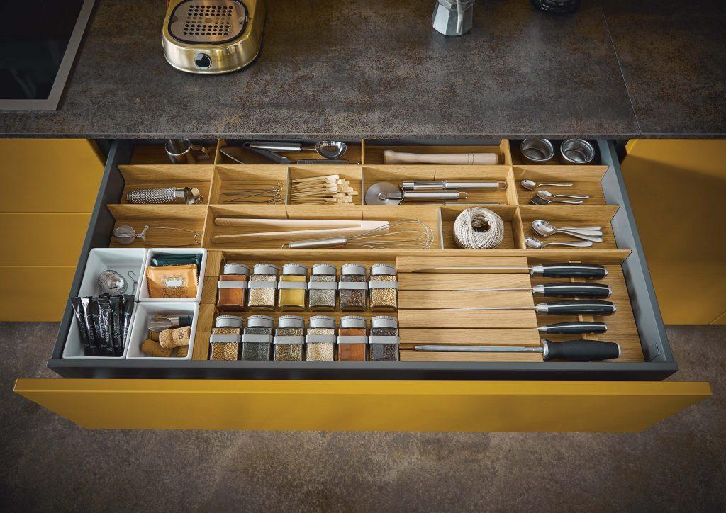 Next 125 NX500 Saffron Yellow Featured Cutlery Insert