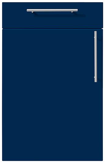 7 Aqua Blue Matt velvet