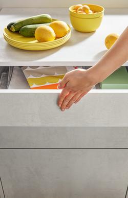 6 Elba Concrete White Grey