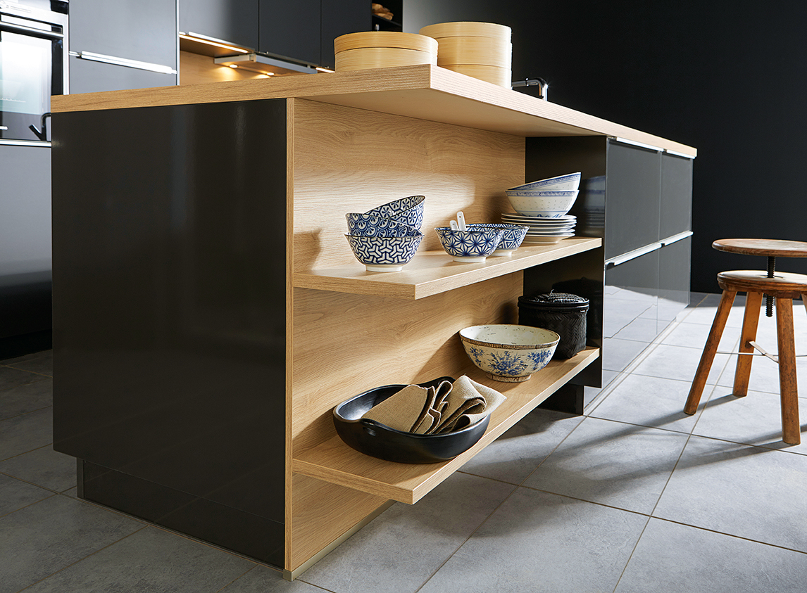 Featured Shelving Ellmau Oak