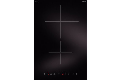 BORA CCH1 Classic Hyper glass ceramic cooktop with 2 cooking zones