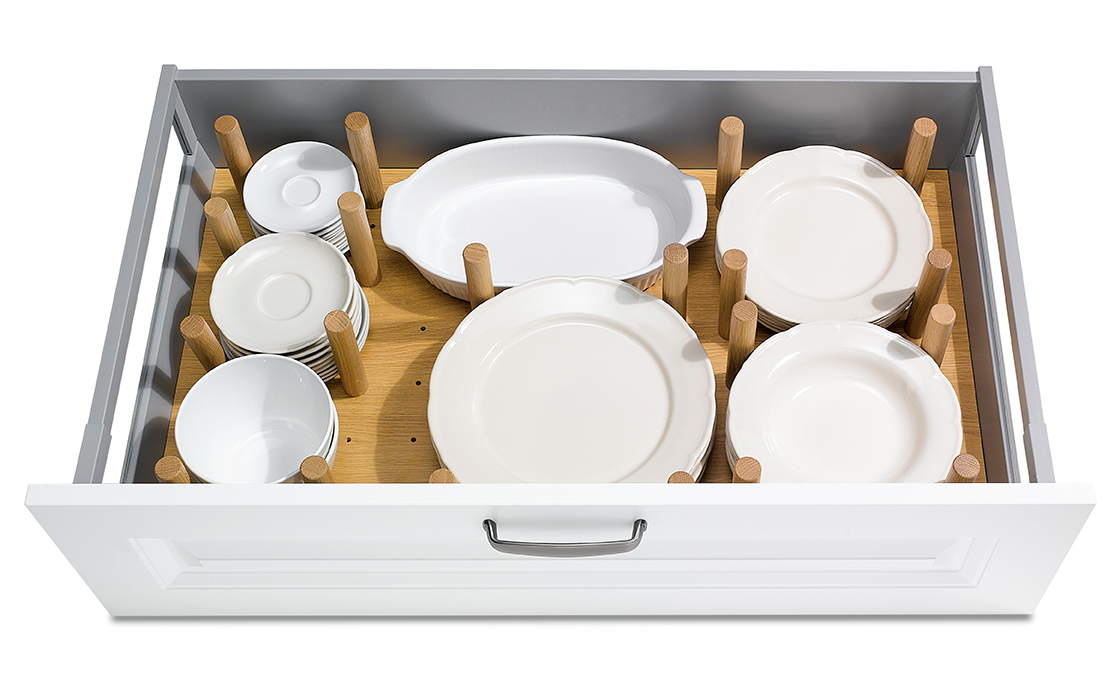 11 Drawer Box 900mm Adjustable Plate Rack
