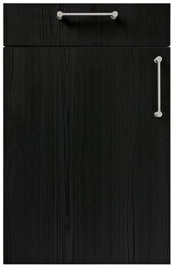 Linea Textured Spruce Onyx Black