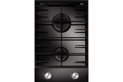 BORA Classic CG11 Gas glass ceramic cooktop with 2 cooking zones