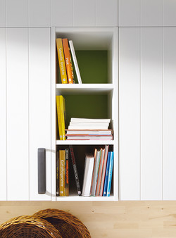Featured Open Bookcase
