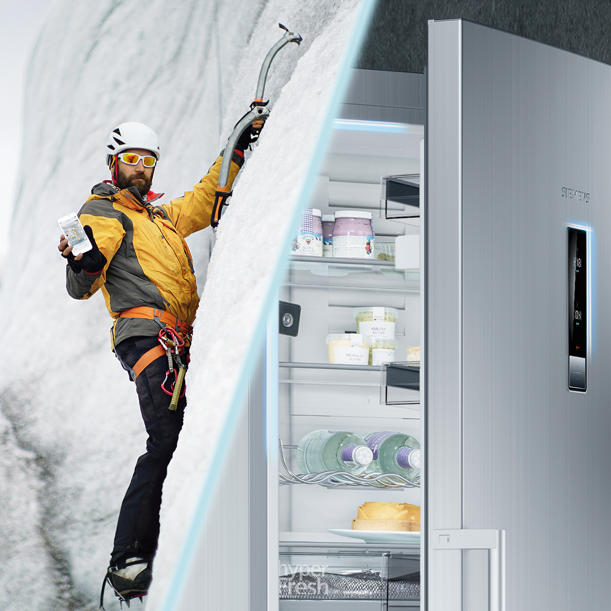 Home connect Fridge Siemens