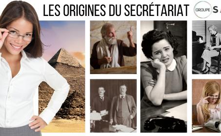 Les origines du secrétariat