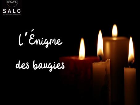 L'énigme des bougies
