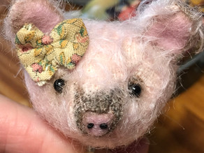 Flora the pig...