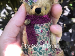 Edwardian bear completed