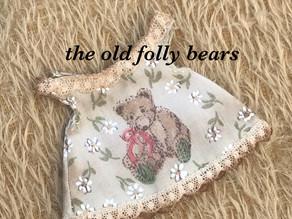 Edwardian bear...