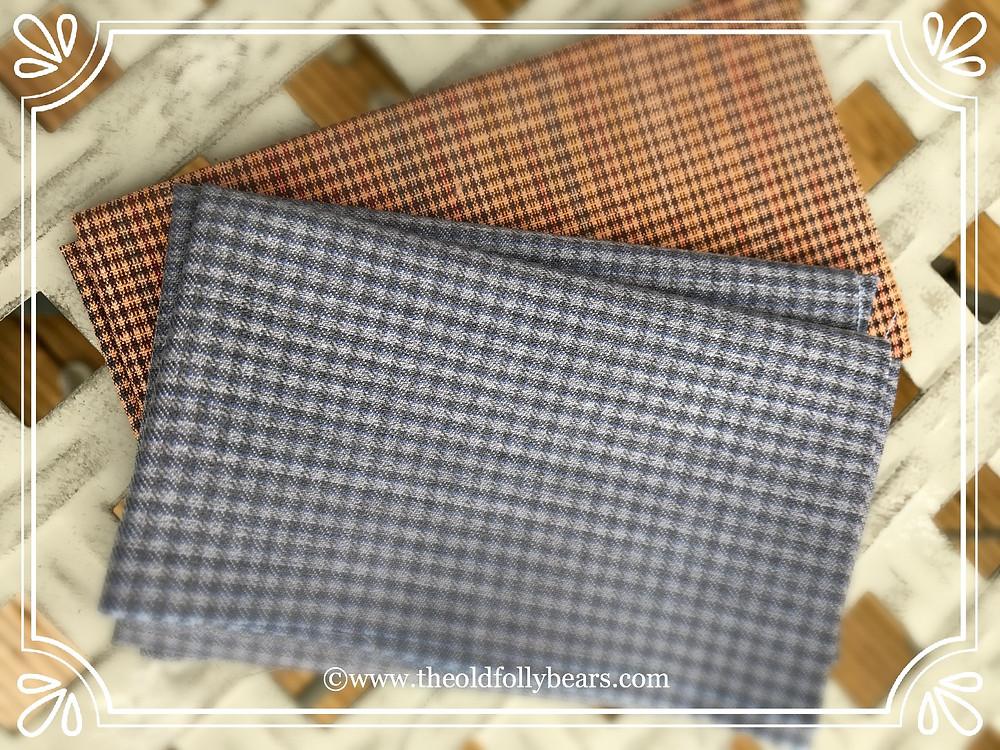 Wool Silk & Vintage Broadcloth