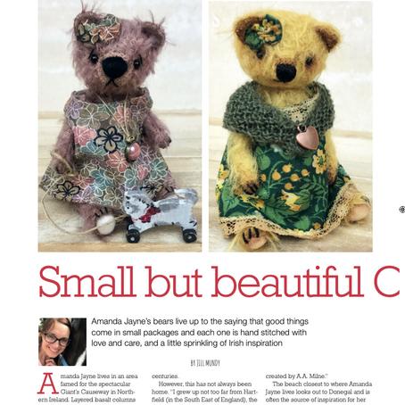 Teddy Bear Times Article...