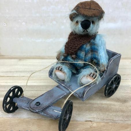 Arthur & his go-kart